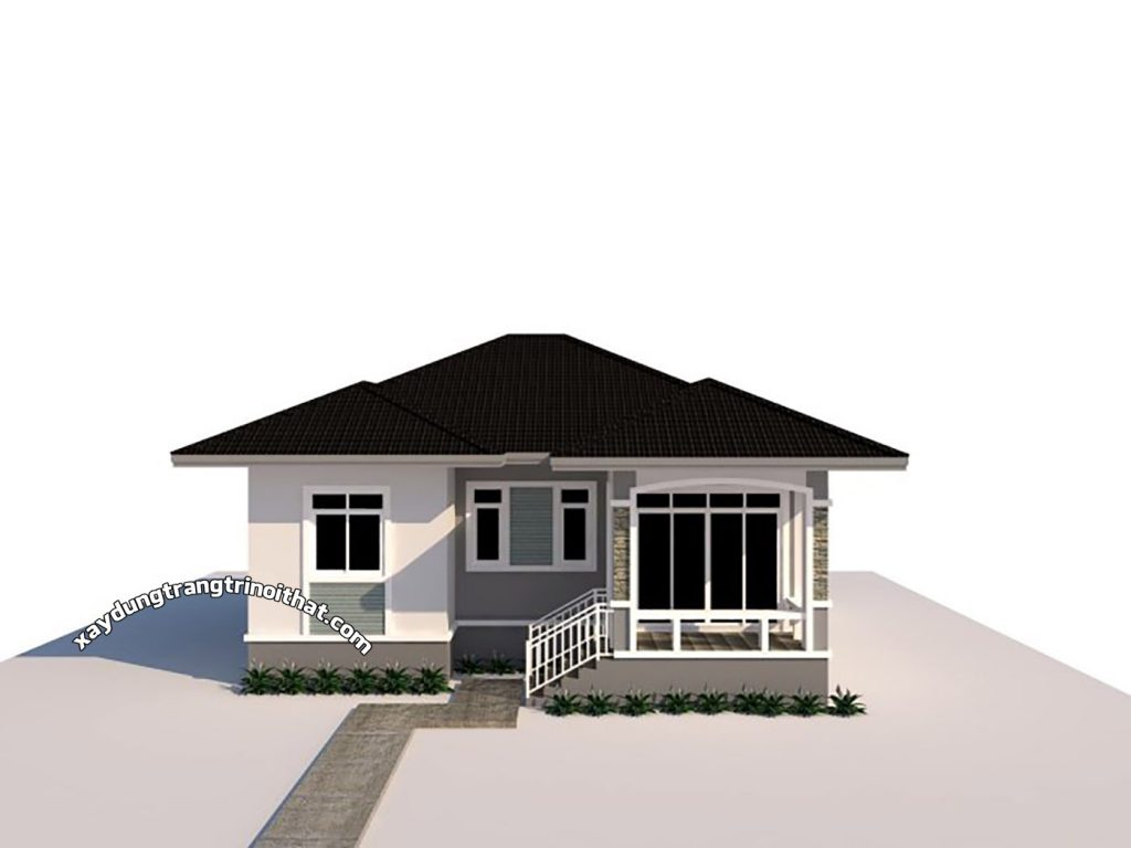 Mẫu Nhà Mái Thái 3 Phòng Ngủ Diện Tích 85m²