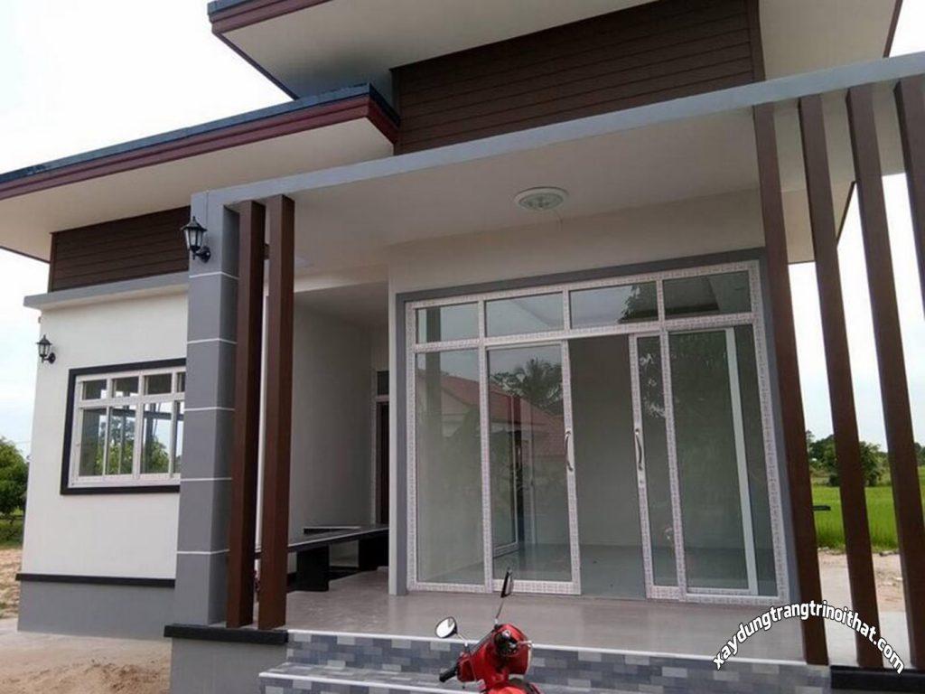 Mẫu Nhà Cấp 4 Diện Tích 125m² 3 Phòng Ngủ 1 Phòng Tắm