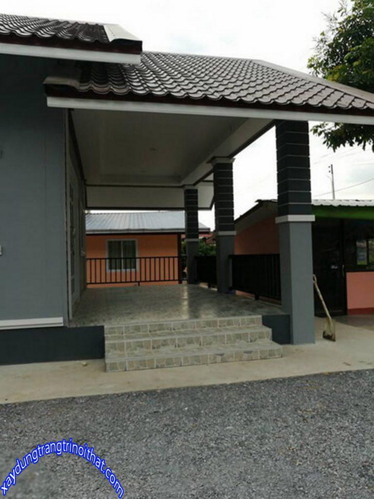 Mẫu Nhà Cấp 4 Mái Thái Đẹp Ở Vùng Nông Thôn