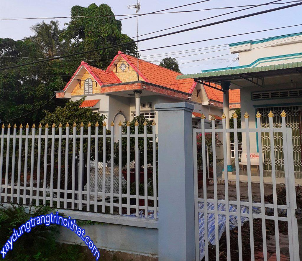 Mẫu Biệt Thự Mini Sân Vườn Đẹp Đơn Giả