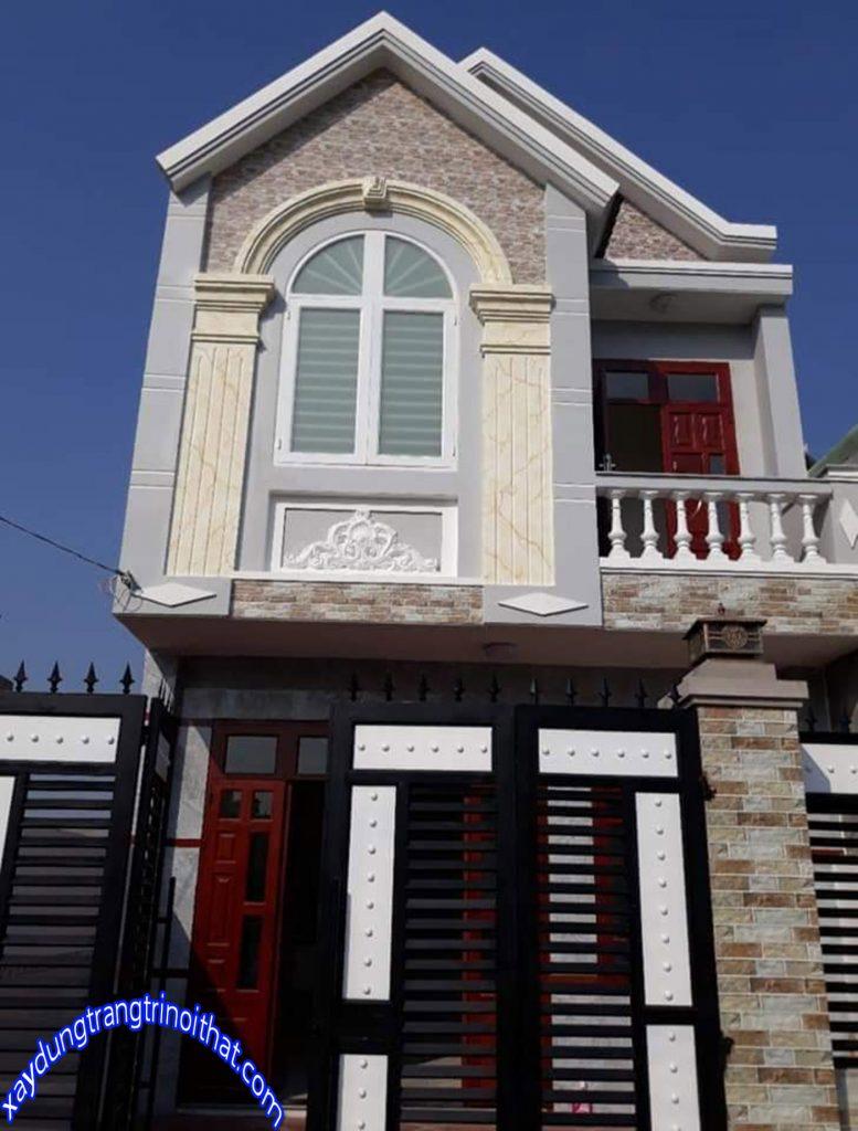 Mẫu Nhà Ống 2 Tầng Đẹp Mái Thái Sang Trọng
