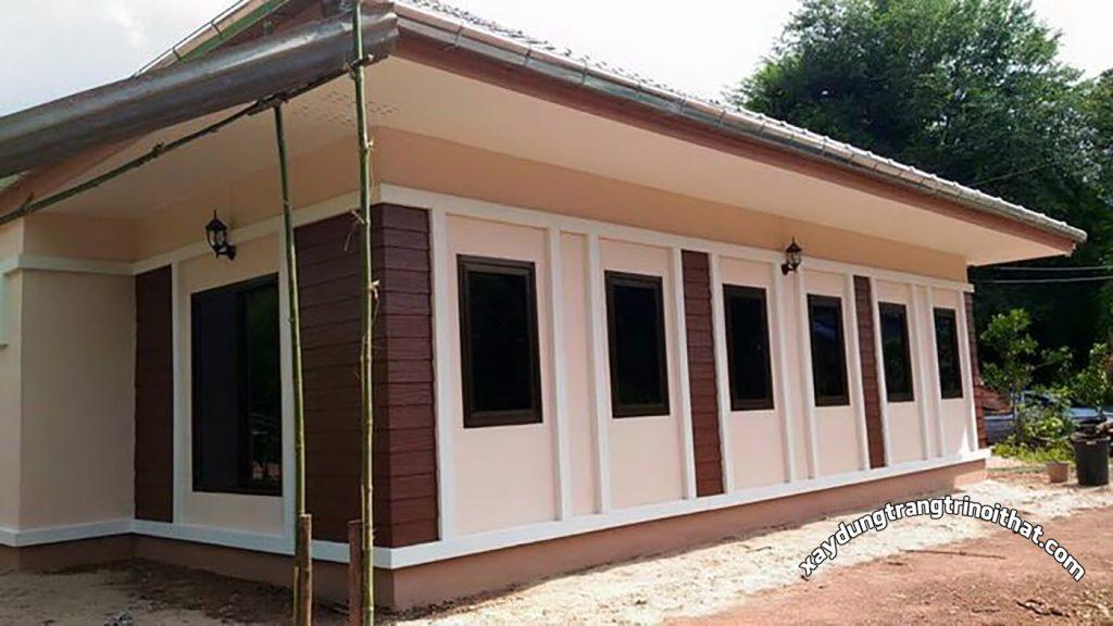 Mẫu Nhà Cấp 4 Mái Thái Phong Cách Đương Đại 3 Ngủ 1 Phòng Tắm