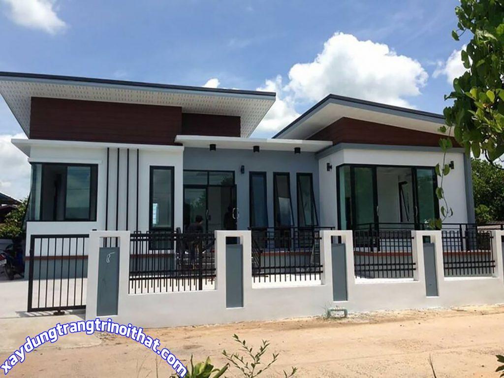 Mẫu Nhà Cấp 4 Diện Tích 135M² 3 Phòng Ngủ Hiện Đại