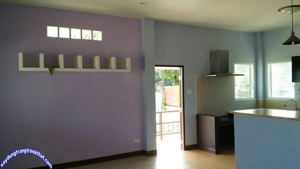 Mẫu Nhà Cấp 4 Mái Thái 86m² 2 Phòng Ngủ 2 Phòng Tắm