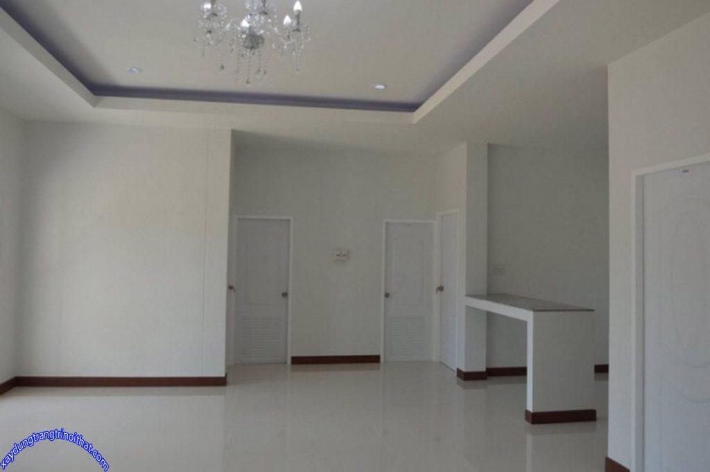 Mẫu Nhà Cấp 4 Mái Thái 3 Phòng Ngủ 2 Phòng Tắm