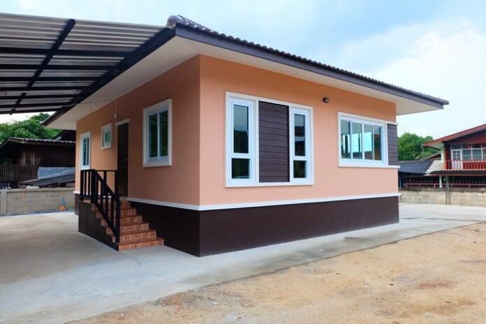 Mẫu Nhà Cấp 4 Phong Cách Hiện Đại Có 3 Phòng Ngủ
