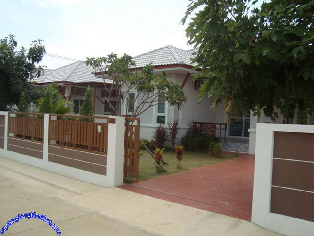Mẫu Nhà Cấp 4 Mái Thái Với Phong Cách Đương Đại