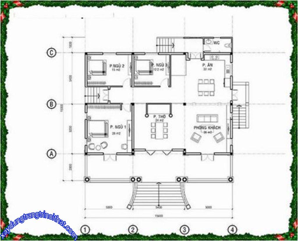Mẫu Thiết Kế Biệt Thự Mini 1 Tầng Phong Cách Hiện Đại