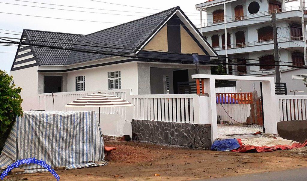 Mẫu Nhà Cấp 4 Mái Thái Đang Thịnh Hành Hiện Nay
