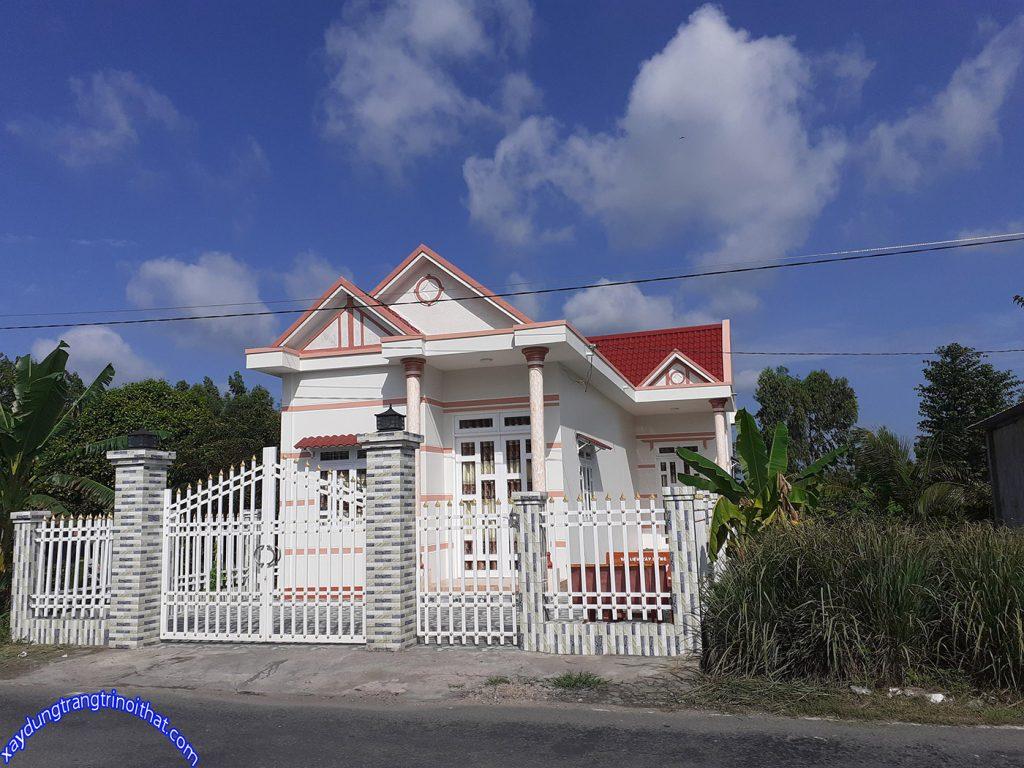 Mẫu Nhà Cấp 4 Mái Thái Thiết Kế Đẹp Ở Vùng Nông Thôn