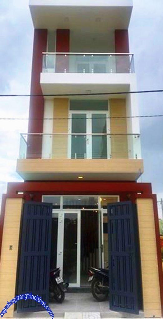 Mẫu Nhà Ống 3 Tầng Thiết Kế Đơn Giản Đẹp Ở Vùng Nông Thôn
